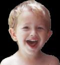 little boy interior head shot